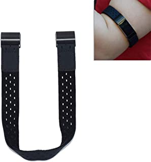 B-Great Breathable Hook and Loop Armband Compatible with Fitbit Charge 2 Fitness Tracker