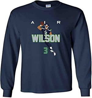 The Silo Long Sleeve Navy Seattle Wilson AIR PIC T-Shirt