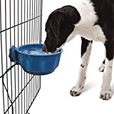 Namsan Dog Water Bowl Pet Heated Hanging Bowl USB Crate Water Bowl for Small Dog Cat Puppy