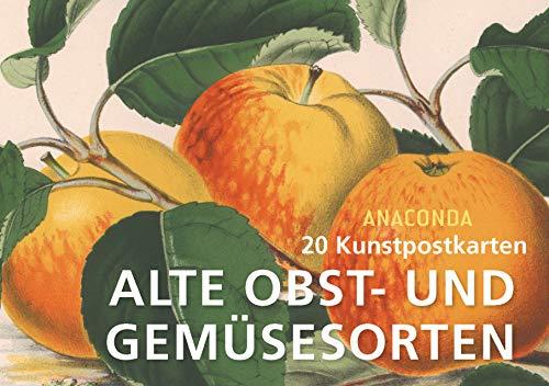 Postkartenbuch Alte Obst- und Gemüsesorten