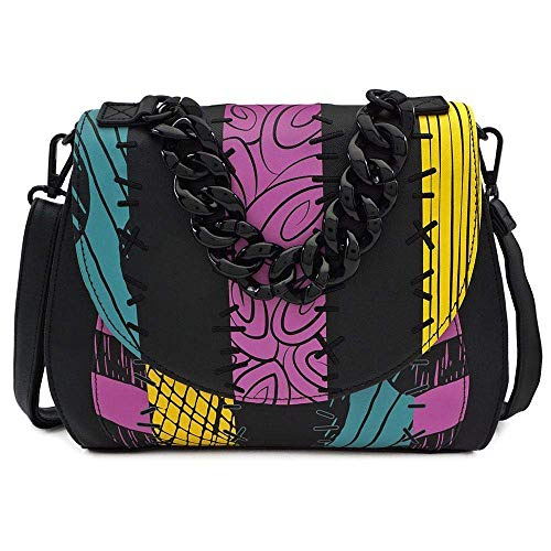 Loungefly x Nightmare Before Christmas Sally Cosplay Crossbody Bag, Multi-colored, Standard