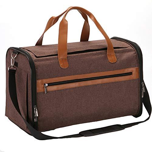 ZWW huisdier transporttas, draagbare anti-vlucht-dubbele deur, oplader, handtas met matras, schouderriem voor honden, met kleine middelgrote katten