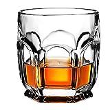 TQJ Botella de Whisky con Vaso Vodka Taza barware Viejo Moda Grabado Diamante Cristal Claro Whisky Vidrio Vidrio Hotel Restaurante Gafas de Agua Botella de Whisky Regalo (Color : #1)