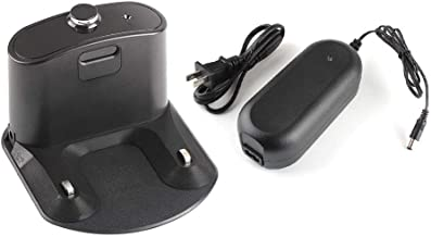 Charger Base Dock Station with Power Adapter and Plug for iRobot Roomba 500/600/700 Series