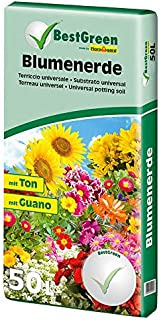 Best Green by Floragard® Potting Soil enriched with Peat Moss | Made in Germany | 50 L