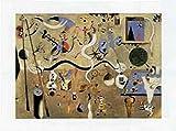1art1 Joan Miró - Der Karneval Von Harlequin, 1925 Poster