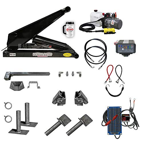 8 Ton (16,000 lb) Dump Trailer Hydraulic Scissor Hoist Kit | PH516 | Perfect for Dump Beds & Trailers (Premium)