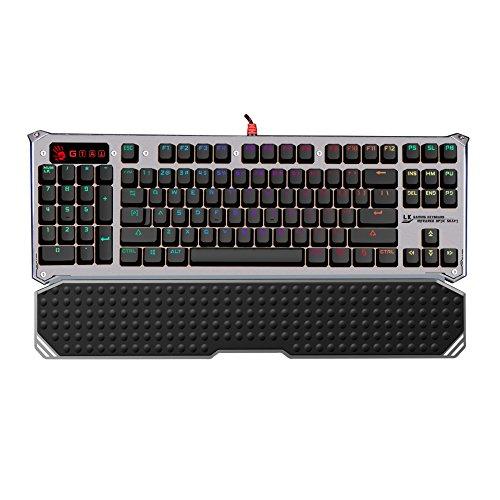 Bloody B845 Light Strike (LK) Optical Mechanical Gaming Keyboard – RGB LED Backlit – LK Blue Switch – Left Handed Keyboard
