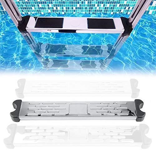 K99 Piscina Escalera mecánica del Pedal de Acero Inoxidable Pedal Paso Submarino Escalera Plegable Piscina Sistema de Entrada Salida Y para enterrada Piscinas Accesorios Piscinas de Pedales,3pcs