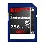 Komputerbay Professional 256 GB High Speed SDXC Class 10 UHS-I, U3 600X Flash Card