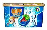 Wipp Express Detergente en Cápsulas Antiolores - 30 Discos, 300 Gramos
