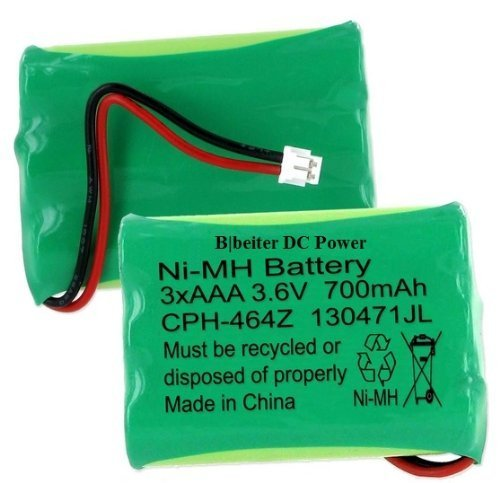 Ooma HB1001 Cordless Phone Battery Ni-MH, Volt, 700 mAh - Ultra Hi-Capacity - Replacement for OOMA HB1001 Rechargeable Battery