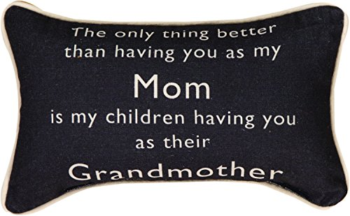 Manual Woodworkers & Weavers Word Throw Pillow, Grandmother, 12.5 x 8.5