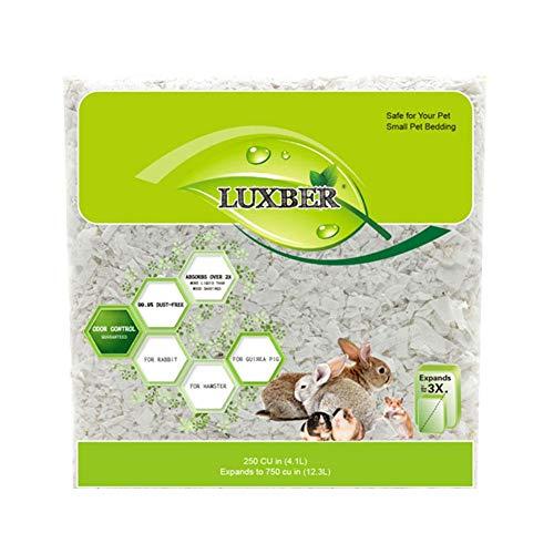 Virutas de Madera Virutas de Viruta para Hámster Limpio y Acogedor Pequeño Material para Ropa de Cama para Mascotas de Embalaje Respetuoso con El Medio Ambiente 570g