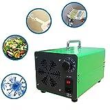 FXQIN Generador de ozono Comercial Profesional con Temporizador, 10000mg/h Purificador de Aire de ozono móvil Ozone Machine O3 para Hogar, Oficina, Humo,Automóviles y Mascotas