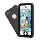 Waterproof iPhone 5/5S/SE Case, EFFUN IP68 Certified Waterproof Dustproof Snowproof Shockproof Case Fully Sealed...