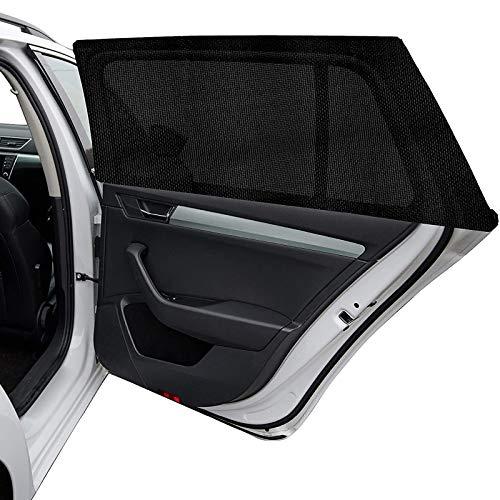 2 Stück Universal Auto Sonnenschutz für Seitenscheiben