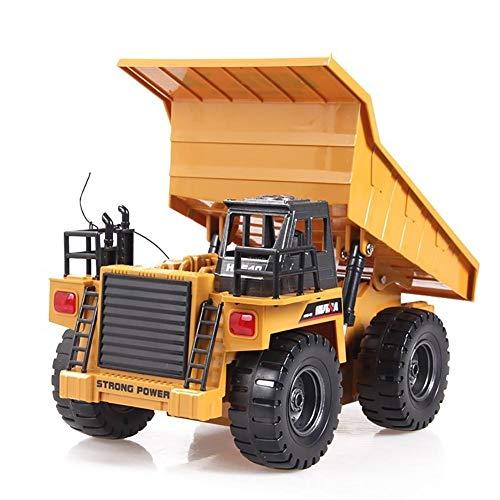 RC Auto kaufen LKW Bild 2: likeitwell 2.4G 6-Kanal-Vollfunktions-LKW 1:18 ferngesteuertes Kipper-Baufahrzeug-Spielzeug für Kinder*