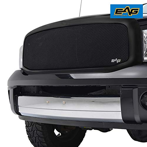 EAG Replacement Grille Black Stainless Steel Mesh with ABS Shell Fit 06-08 Ram 1500/06-09 Ram 2500/3500