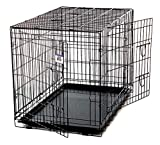 Pet Lodge Extra Large Wire Double Door Dog Crate Extra Large Wire Double Door Crate, Great for Pets Up to 100 lbs (Item No. WCXLG)