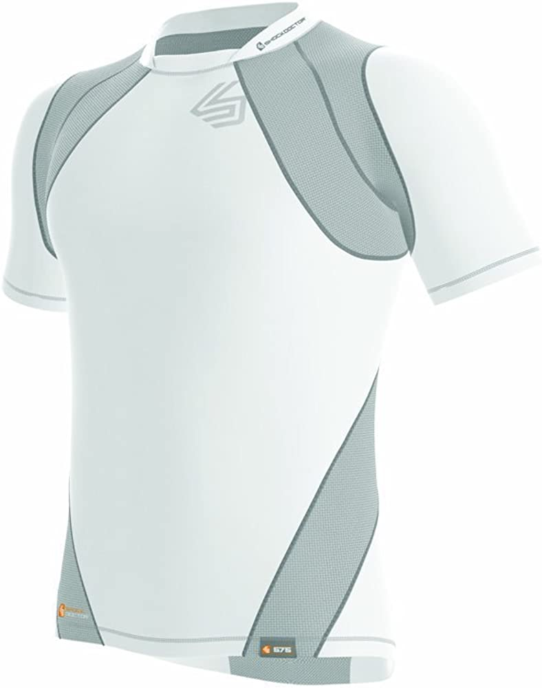 Shock Doctor Boys Velocity Motion360 Short Sleeve Shirt