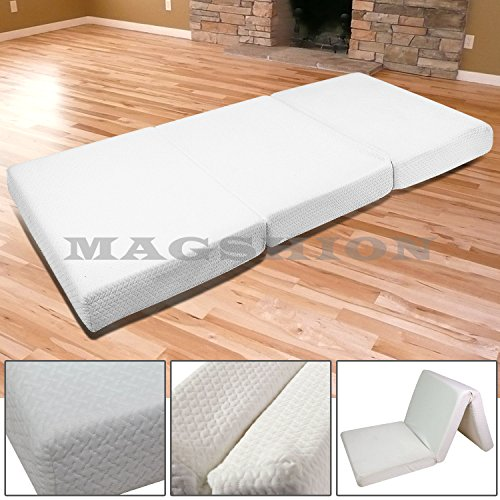 Magshion Memory Foam Mattresses Folding Bed (Twin 39