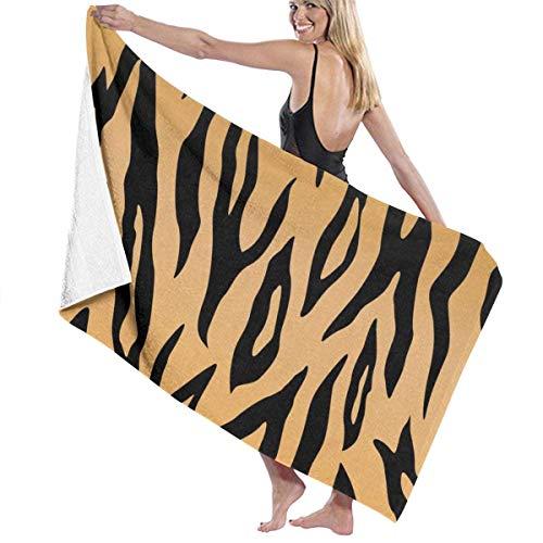 AEMAPE Tiger Print Pattern Badetuch Wrap Strandtuch Schal Bademantel Waschlappen...
