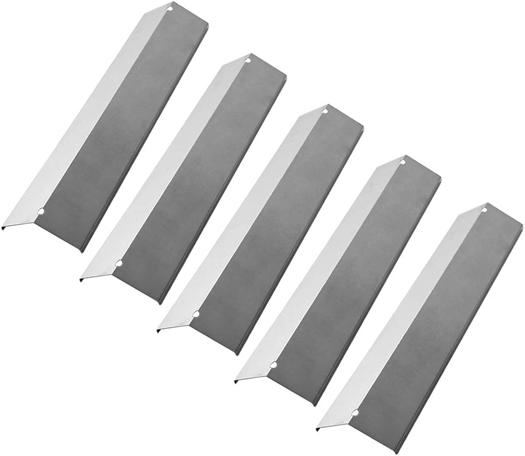 Brinkmann 810-2545-W 810-9520-S Kit Includes 5 Heat Plate /& SS Cooking Grates
