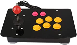Haihuic Arcade Game Controller for PC USB Arcade Fight Stick Gamepad Joystick and 8 Buttons for MAME, KOF, Street Fighter,...