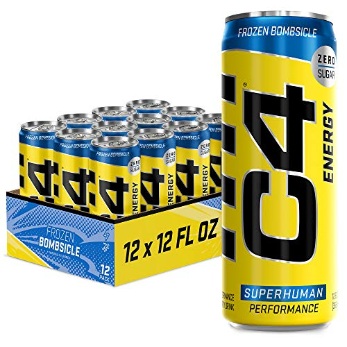 12-Pack 12-Oz C4 Energy Drink (Frozen Bombsicle) $9.83 w/ S&S + Free Shipping w/ Prime or on orders $25+