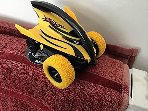 Stunt Car Cool Devil - Juguete giroscopio giratorio de alta velocidad para niños, diseño de pez de Inercia