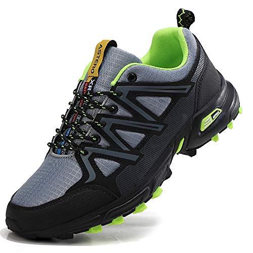 scarpe da ginnastica uomo running ASTERO Uomo Scarpe Ginnastica Sportive Running Sneakers Corsa Basse Basket Respirabile Fitness Outdoor Escursionismo Calzature Taglia 41-46(EU