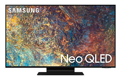 Samsung Neo QLED 4K 2021 55QN90A - 55' Smart TV, Risoluzione 4K UHD, Tecnologia Quantum Matrix, Processore Neo QLED 4K con IA, Quantum HDR, OTS+ [Efficienza energetica classe F]