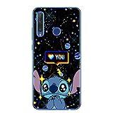 Cute Cartoon Stitch Soft TPU Phone Case for Huawei Honor 9