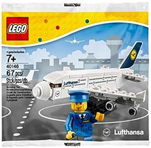 salida de fábrica LEGO 40146 Lufthansa Airbus A380 A380 A380 - Figuras coleccionables (67 Piezas, en Bolsa de plástico)  precio al por mayor
