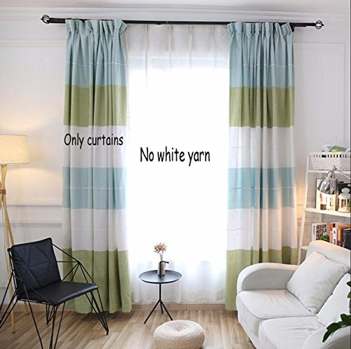 cortinas habitacion horizontal