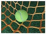 Nylon Softball Net Backstop, Tennis Net Stop Ball Baseball Soccer Goal Nets Football Rebounder Return Replacement Backstop Net Hockey Netting Barrier Lacrosse Fence Court Nets for Catching Balls