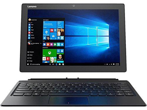 Lenovo Miix 510 Touchscreen 12.2-Inch Full HD (1920x1200) Performance 2-in-1 Laptop ,Intel Dual-Core i5-7200U Processor,8GB RAM,256GB SSD,WiFi,Bluetooth,Windows 10