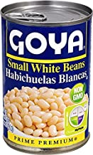 Goya Small White Beans Habichuelas Blancas 15.5 Oz. Pack Of 6.