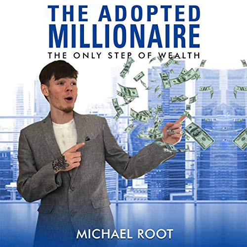 The Adopted Millionaire audiobook cover art