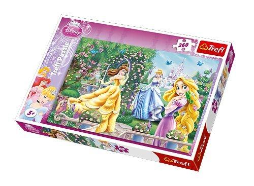Trefl 13141 - puzzel, Disney Princess, wandeling voor bal, 260 delen