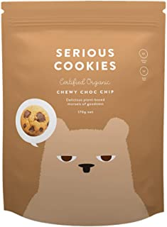 Serious Foods Cookies - Chewy Chocolate Chip 170g (8 pack)