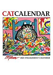 Perfect holiday gift for cat lovers: A Kliban cat calendar