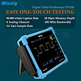 Micsig Digital Tablet Storage Oscilloscope 100 MHz 4CH TO1104