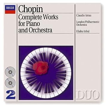 Chopin: Piano Concertos Nos.1 & 2 etc