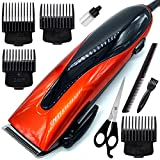 OSL Men's GEEMYY Waterproof Professional Big Corded Beard Mustache Hair Trimmer High Power Hair Clipper Electric Razor Multicolor (0.8mm to 12mm Trimming Range) (6 Month Warranty)