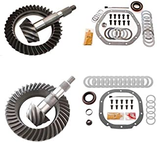 4.56 RING AND PINION GEARS & INSTALL KIT PACKAGE - DANA 44 REV FRONT / 8.8 REAR