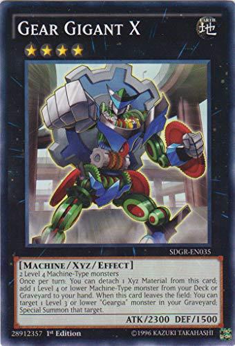 YU-GI-OH! - Gear Gigant X (SDGR-EN035) - Structure Deck: Geargia Rampage - 1st Edition - Common