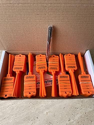 MT03 200 etiquetas para llave de coche para identificar tus vehículos, coches, caravanas, furgonetas, motocicletas (1)