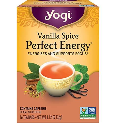 Yogi Tea - Vanilla Spice Perfect Energy (6 Pack) - Energizes and...